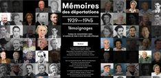 Mémoires des déportations, 1939-1945 : ressources historiques, cartographie inédite et des centaines de témoignages sur les déportations, l'univers concentrationnaire et la Shoah.
