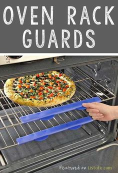 21 GENIUS Silicone Inventions -- Protects hands and arms that often times bump or touch the oven racks!