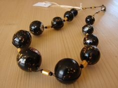 Černé s kovovými odlesky Pearl Earrings, Beaded Bracelets, Jewels, Gallery, Fashion, Dark Eye Circles, Fimo, Moda, Jewelery