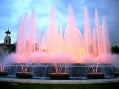 Visit the Magic Fountain when in Barcelona!