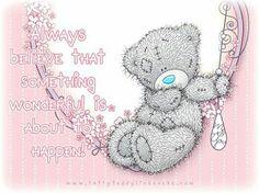 "❤Tatty Teddy ~ ""Something Wonderful""❤ Cute Teddy Bear Pics, Teddy Bear Quotes, Teddy Bear Images, Cute Bears, Tatty Teddy, Hugs And Kisses Quotes, Hug Quotes, Hug Pictures, Teddy Bear Pictures"