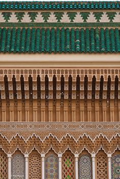 detail of Royal Palace - Fes, Morocco
