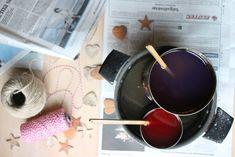 seksti delt på fem: tennbrikker - julegave-DIY Lily
