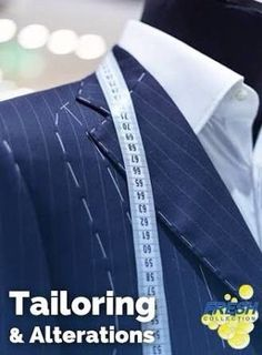 Fashion designers , Clothing repairs, clothing alterations, laundry services…