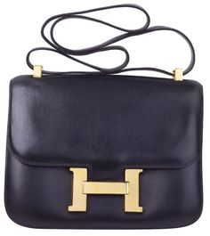 Vintage Hermes handbag