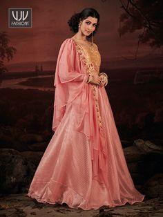 Rs4,300.00 Indian Wedding Lehenga, Indian Wedding Outfits, Bridal Lehenga Collection, Dress Collection, Pink Lehenga, Lehenga Choli Online, Indian Ethnic Wear, Pink Color, Festival Wear