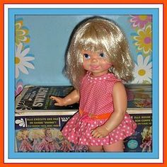 1969 Mattel Canada Swingy Doll - Box And Outfit 17 Inches Tall from ~ DOLL-LIGHTED TO MEET YOU! @Doll Shops United http://www.dollshopsunited.com/stores/dolllighted/items/1301764/1969-Mattel-Canada-Swingy-Doll-Box-Outfit-17-Inches #dollshopsunited