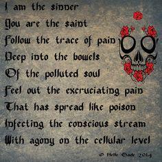 dark poems about pain - Google Search Dark Love Poems, Creepy