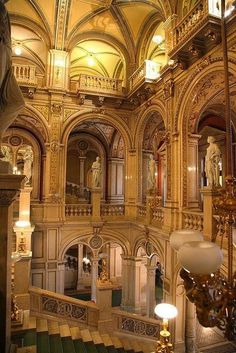 The State Opera House in Vienna, Austria  This has got to be on the must-do list for any visit to Europe.   Any other suggestions for places to visit in Austria? Let everyone know at: http://www.besteno.com/questions/where-is-the-best-place-to-go-sight-seeing-in-austria