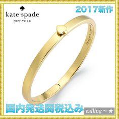 セレブ愛用者多数☆kate spade new york☆Thin Bangle Bracelet