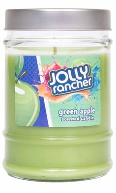 HANNA'S® is proud to be a licensed producer of JOLLY rancher candles! We have taken all the delicious treats you love and captured their sweet scents for you to enjoy anytime; calorie free! Fragrances
