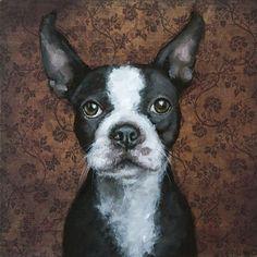 "Daily Paintworks - ""Marty"" - Original Fine Art for Sale - © Clair Hartmann"