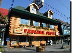 Flapjack's Pancake Cabin has two locations on the Parkway in Gatlinburg, TN and several other locations around Sevier County!