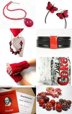 A Little Red by Nick on Etsy--Pinned with TreasuryPin.com