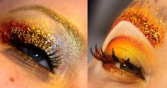 """Two awesome Hunger Games looks based on """"The Girl On Fire"""" by Makeup your Jangsara"""