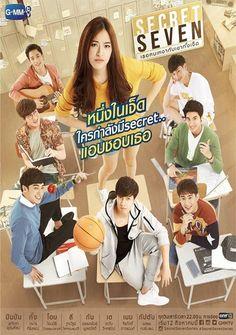 Secret Seven: The Series (Thailand Drama); Secret Seven เธอคนเหงากับเขาทั้งเจ็ด; This is the story of Padlom, a lonely Korean Drama Romance, Korean Drama List, Korean Drama Quotes, Korean Drama Movies, Drama Film, Drama Series, Drama Eng Sub, Kdrama, Hong Kong Movie