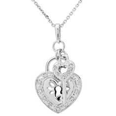 Tiffany keys heart key pendant rose gold keys and tiffany key aloadofball Image collections
