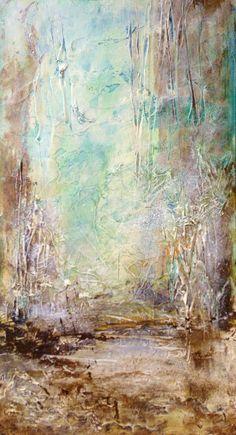 "techniques mixtes sur mdf ""chemin de traverse"" 40x60cm environ - fatiha riry 2013 2013, Painting, Art, Happy, Diagon Alley, Paths, Art Background, Painting Art, Paintings"