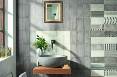 May collection of 4x8 ceramic wall tiles, with matt finish, available in 10 earthy colors.