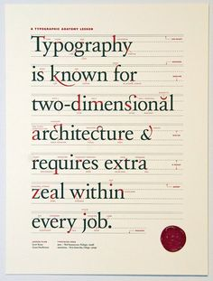 Typography is known