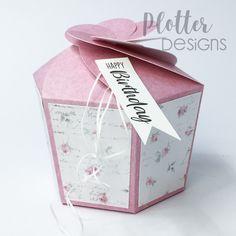 Plotterdatei Cookie-Box von PlotterDesigns Cricut, Container, Birthday, Design, Paper, Binder, Goodies, Flasks, Packaging
