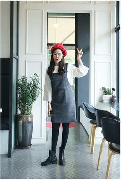 Cute overall dress  Korean Fashion Online Shopping Website | Korean Clothing
