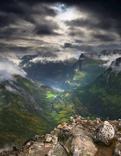Dalsnibba Mountain, Norway by theresa