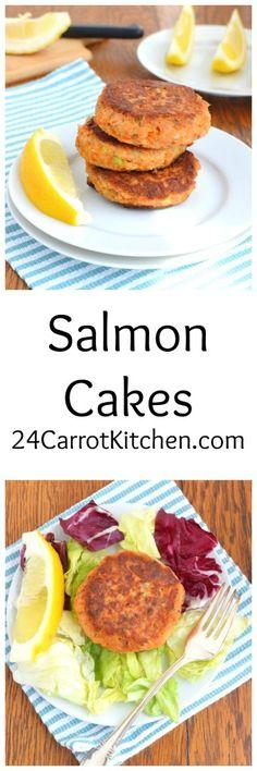 Click for the recipe - Salmon Cakes! |grain free, gluten free, dairy free, paleo, salmon, dinner|
