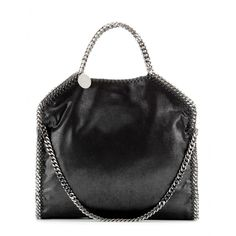 Stella McCartney - Falabella Small shoulder bag - Stella McCartney's 'Falabella' has become the It bag among the fashion pack. This small version is roomy enough for all your everyday needs and can be worn two ways with its signature chain-link shoulder strap. seen @ www.mytheresa.com