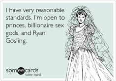 I'll just take Ryan Gosling...