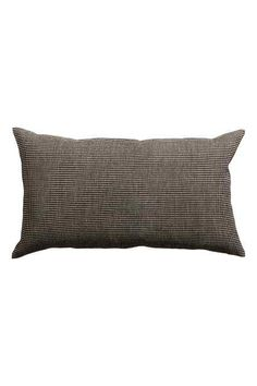 Cushion cover with straw