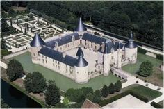 Small Castles, Chateau Medieval, French Castles, French Chateau, Rhone, Versailles, Around The Worlds, Landscape, Architecture