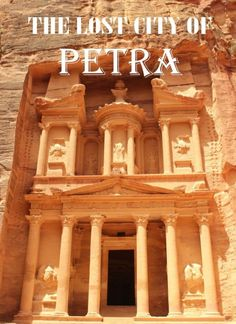 Then Lost City of Petra in Jordan. A fascinating walk back through time - over 2,000 years of it.