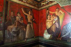Villa dei Misteri, Pompei - foto Matteo Nardone