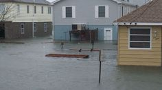 Neighborhoods are under water in Wildwood, N.J.