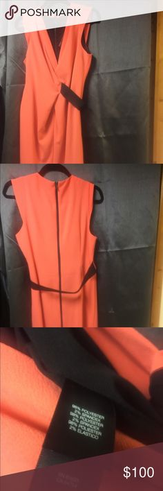 Kenneth Cole New York Dress Sexy Kenneth Cole New York Hot Coral Samantha Dress. Measurements 38 Bust  29.5 Bust. 40.5 Hips Kenneth Cole New York Dresses
