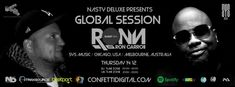 """Upcoming Thursday !!! (14. 12. 2017) UK time Zone 20.00 - 22.00 / EU time Zone 21.00 - 23.00  Dj Nasty deluxe / City of Drums / Munich / Germany  Electronic Music Network Group / Germany  """"Global Session"""" Season 2017 / 2018  Guest Mix by : Ron Carroll  Dj / Producer / based in Chicago, USA - Melbourne, Australia Record Label : SYS MUSIC, Electric Disco, SYS Soul, Sys-tem-at-ic Genre : House / Techno / Deep House / Disco"""