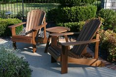 Adirondack outdoor furniture - handmade by local craftsman