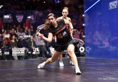 The key to the forehand swing is ensuring that you lead the swing with your elbow. It helps keep the racket face open as well as helping you to generate racket head speed.  Learn more now: https://squashskills.com/squash:playlists  #squash #psaworldtour #psa