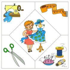 krajčírka - puzzle