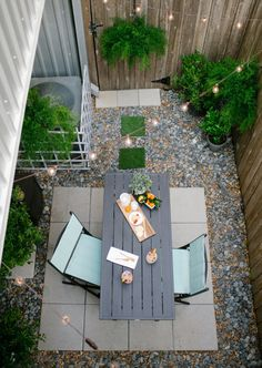 @True Value: I'm planning on creating a small patio area for my boyfriend and I to enjoy with our friends (inspired by this DIY Backyard makeover | sugarandcloth.com). Currently we just have a driveway and no outdoor space, so we want to make a small but sweet little area for us to enjoy the summer weather!