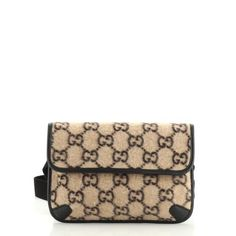 Gucci Belt Bag GG Wool 5737175 - Rebag Clothes Encounters, Gucci Models, Order Up, Exterior Colors, Colorful Interiors, Louis Vuitton Damier, Neutral, Belt, Wool