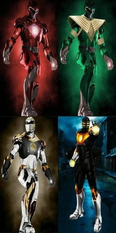 Power Ranger ironman styles