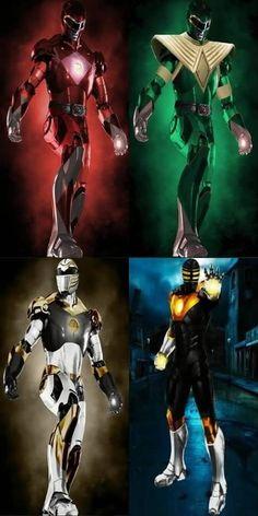 Power Ranger ironman styles
