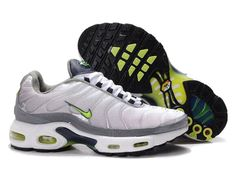 France Pas Cher Vente Chaude Nike Air Max TN Homme Gris Vert