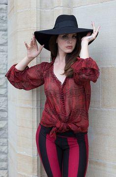 Lana Del Rey for Fashion Magazine
