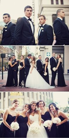 Black and White Wedding Photography Ideas