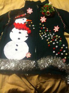 Ugly Christmas sweater!!