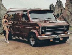 Customized Ford show van