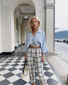 Classy Outfits, Casual Outfits, Cute Outfits, Fashion Outfits, Fashion Pants, Spring Summer Fashion, Spring Outfits, Winter Fashion, Laura Jade Stone